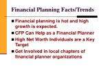 financial planning facts trends