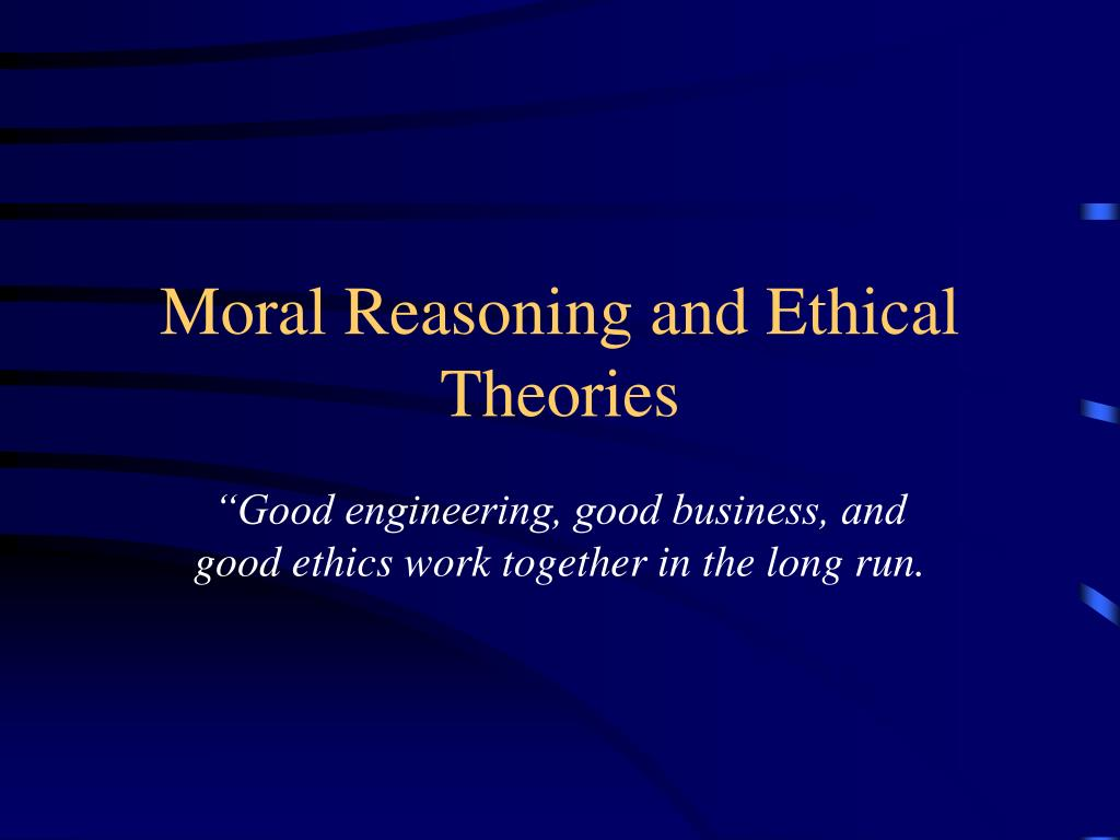 business and ethical reasoning