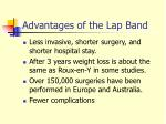 advantages of the lap band