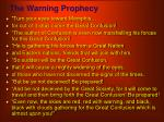 the warning prophecy