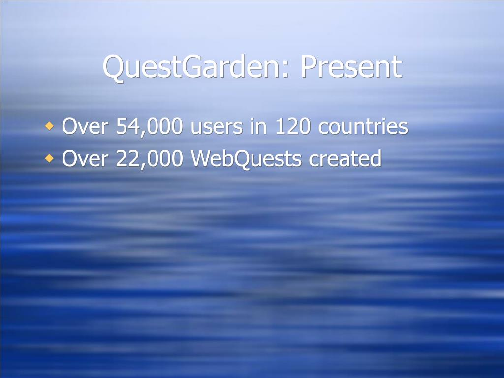 QuestGarden: Present