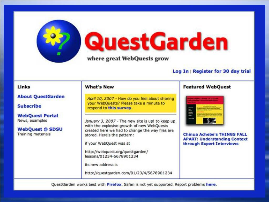 Solution: QuestGarden