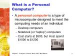 what is a personal computer