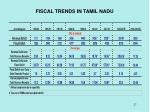 fiscal trends in tamil nadu