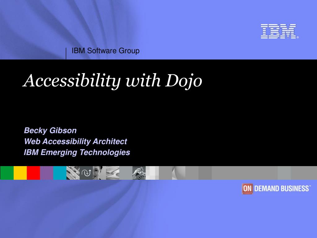 accessibility with dojo l.