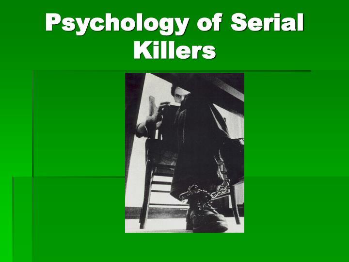 psychology of serial killers n.