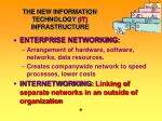 the new information technology it infrastructure7