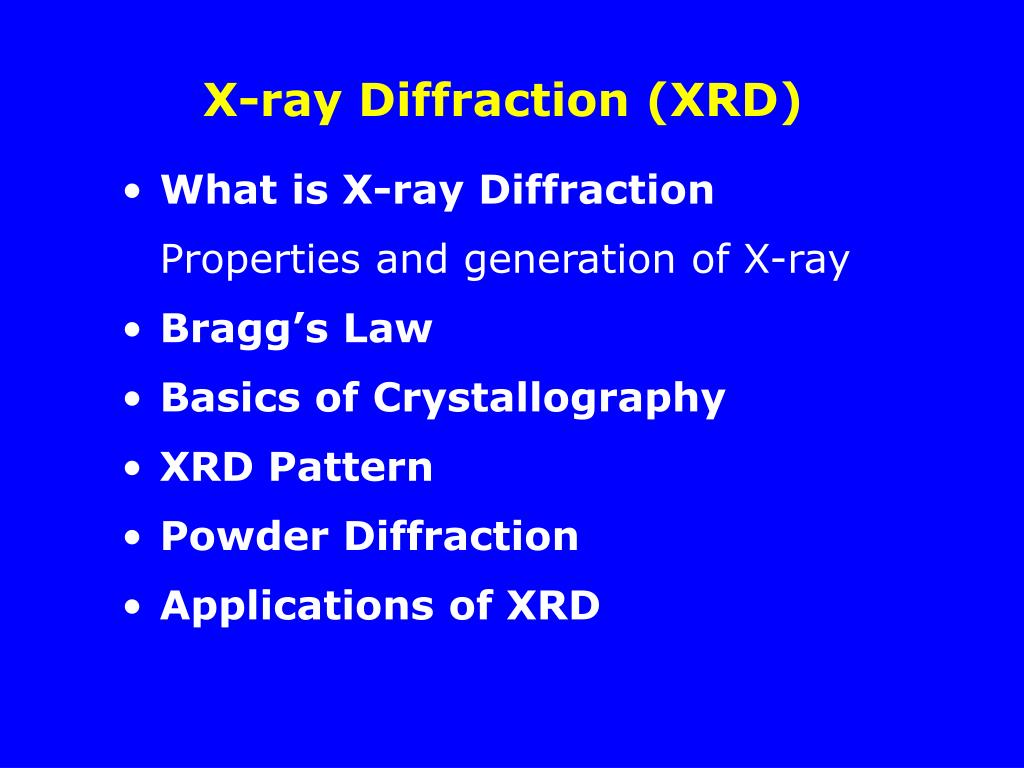 reports and essays on x-ray diffraction and crystallography X-ray diffraction – free essays double hydroxide resulting into intermixed x-ray crystallography lab report will consist of a separate sheet of paper.