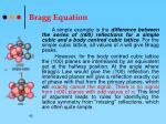 bragg equation42