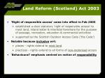land reform scotland act 20033