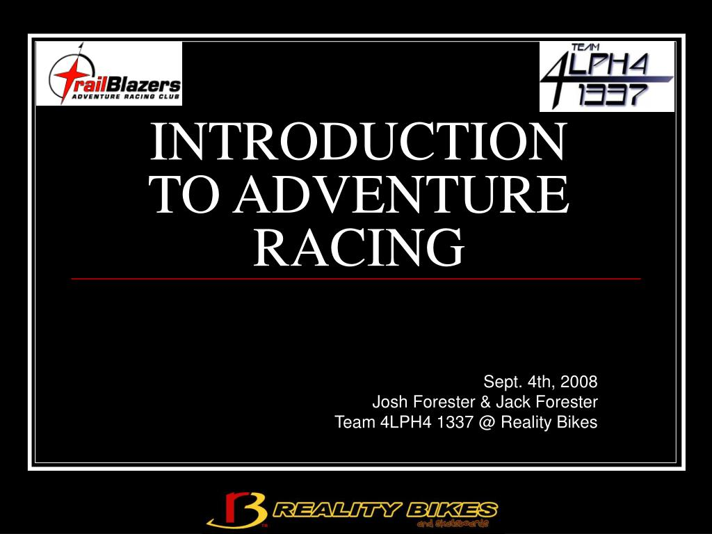 introduction to adventure racing l.