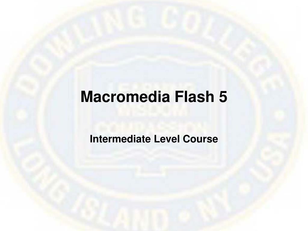 macromedia flash 5 l.