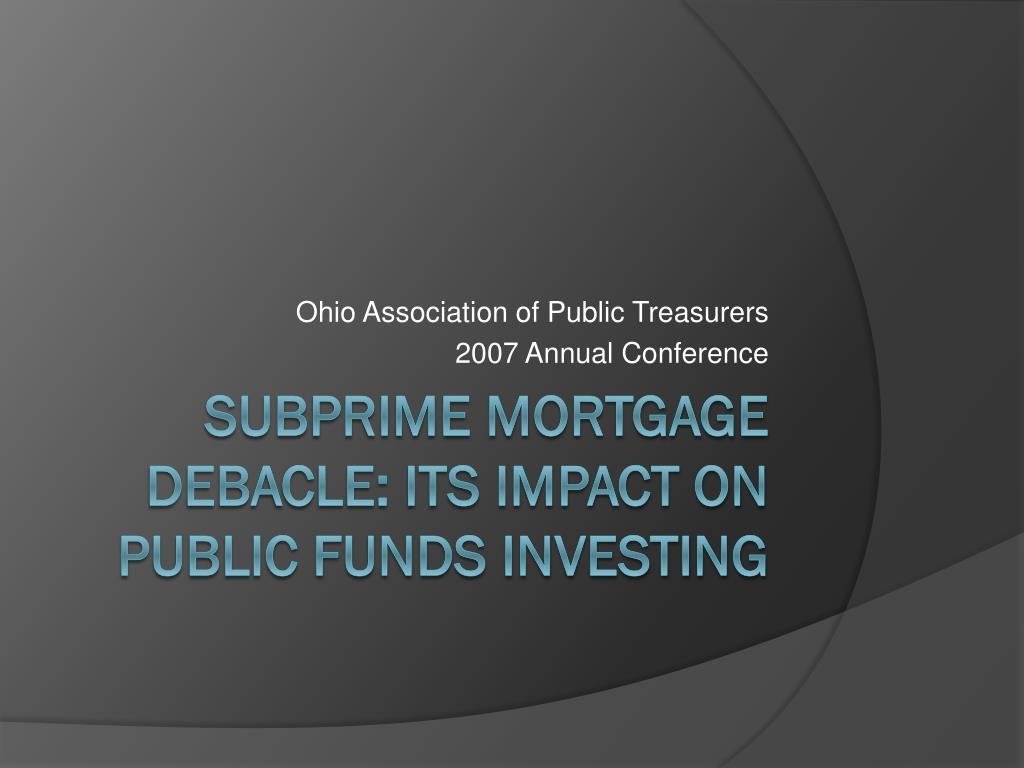 Ohio Association of Public Treasurers