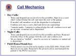 call mechanics