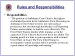 rules and responsibilities9