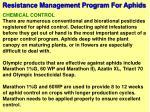 resistance management program for aphids6