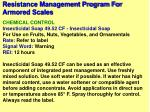 resistance management program for armored scales40