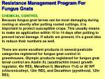 resistance management program for fungus gnats67
