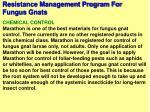 resistance management program for fungus gnats69