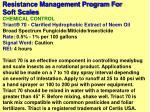 resistance management program for soft scales31