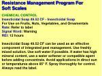 resistance management program for soft scales33