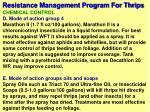 resistance management program for thrips63
