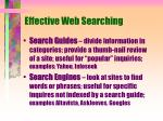 effective web searching