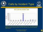 calls by incident type