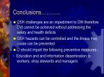 conclusions14