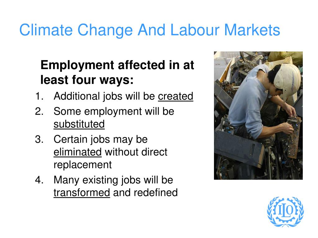 Climate Change And Labour Markets