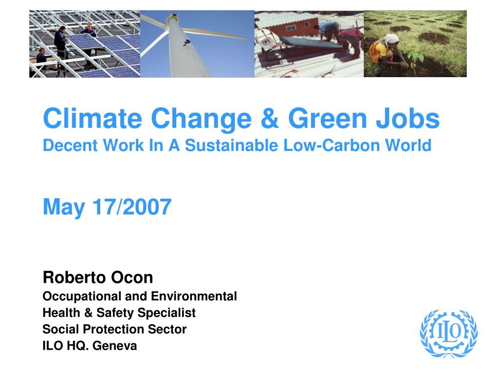 Climate Change & Green Jobs