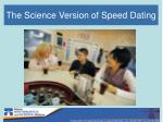 the science version of speed dating