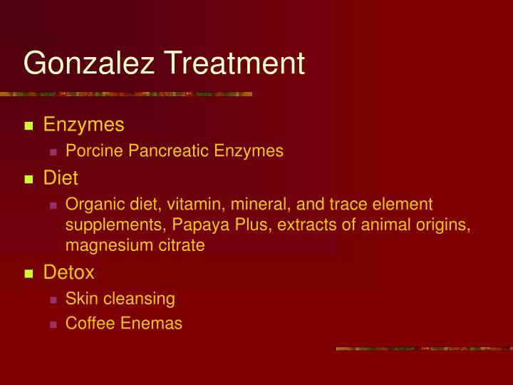 Gonzalez treatment