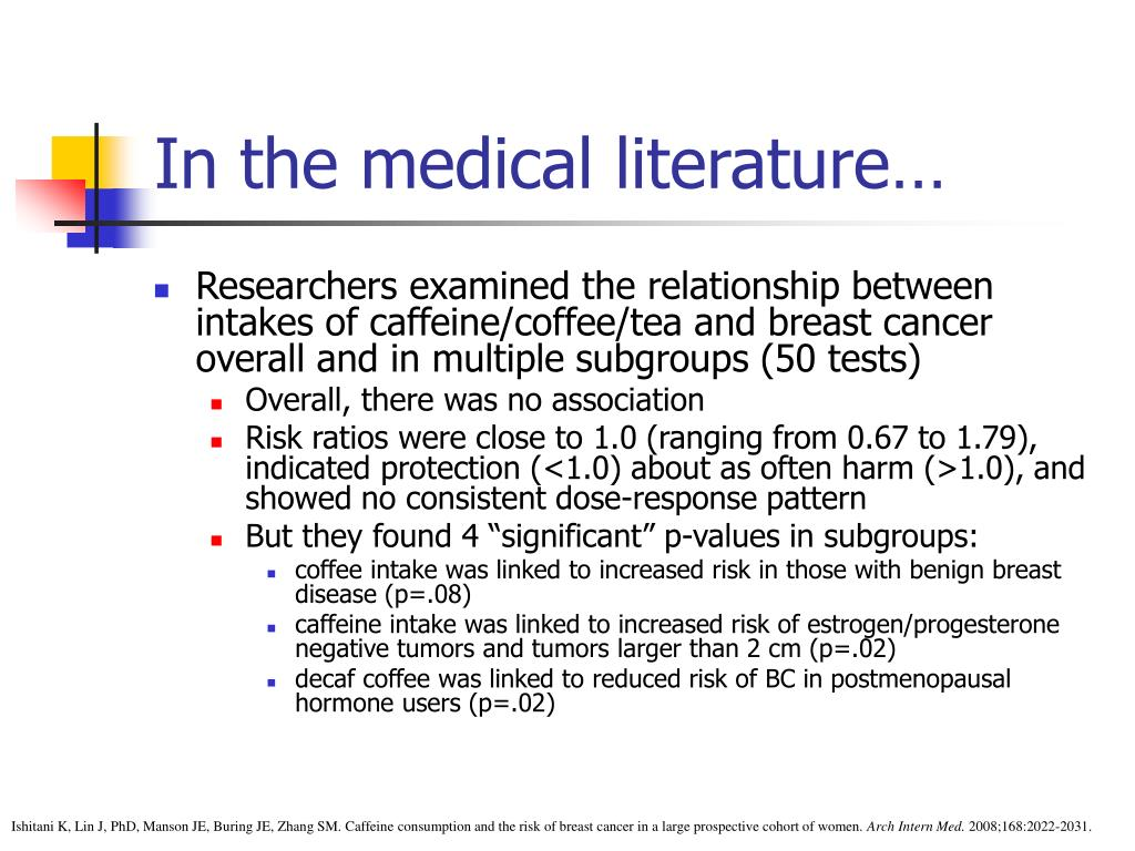 In the medical literature…