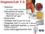 diagnosis lab i d