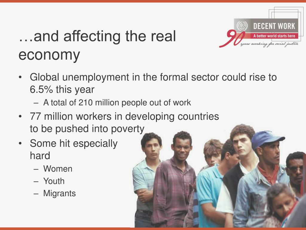 …and affecting the real economy