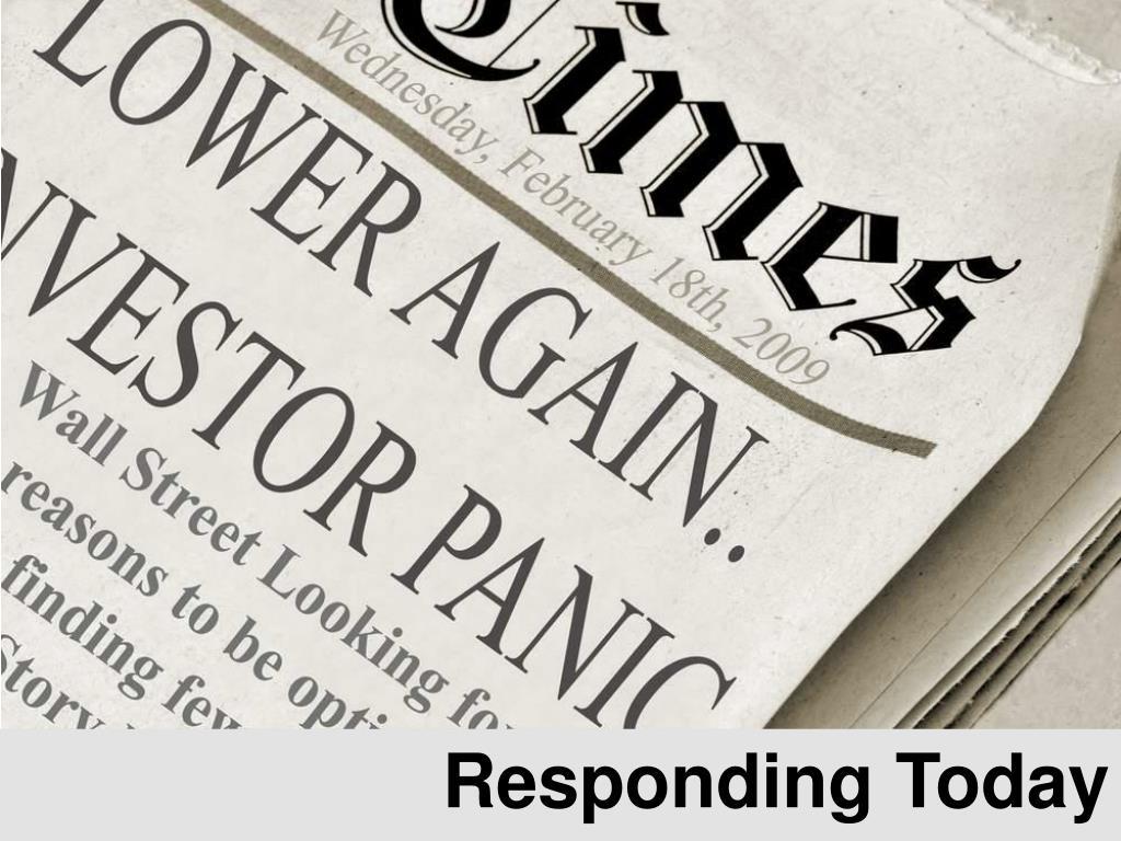 Responding Today