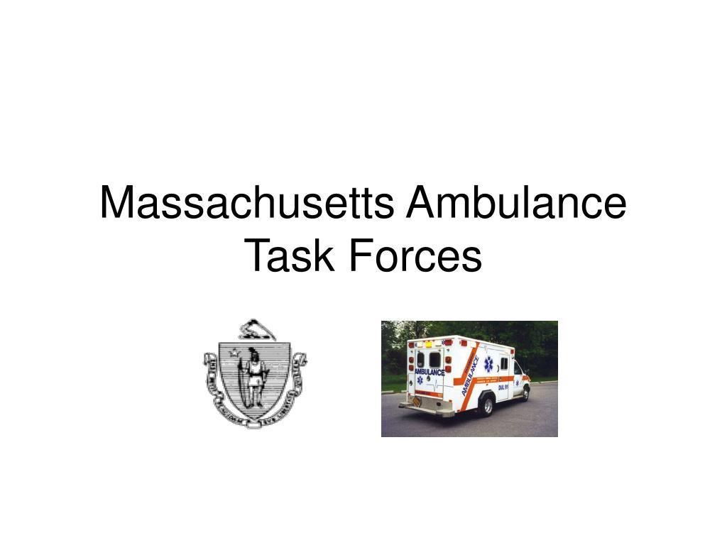 massachusetts ambulance task forces l.
