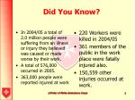 did you know5
