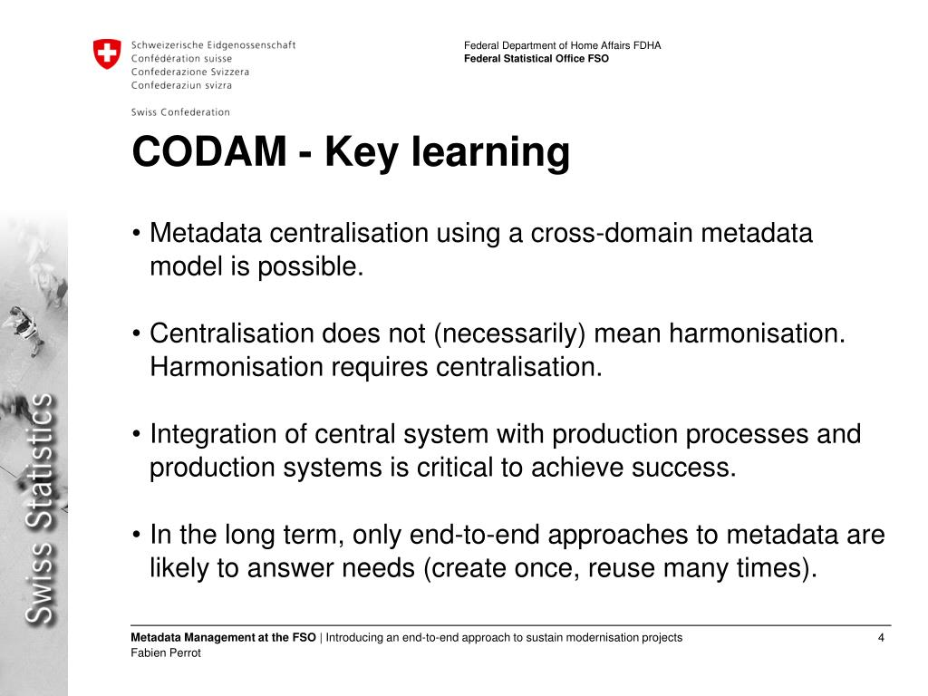 CODAM - Key learning