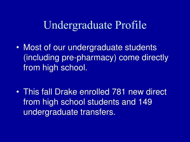 Undergraduate Profile