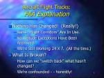 aircraft flight tracks faa explanation