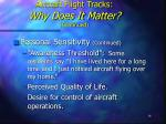 aircraft flight tracks why does it matter continued16