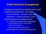 easa technical arrangement