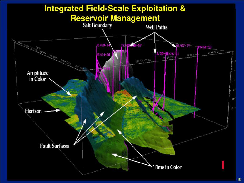 Integrated Field-Scale Exploitation & Reservoir Management