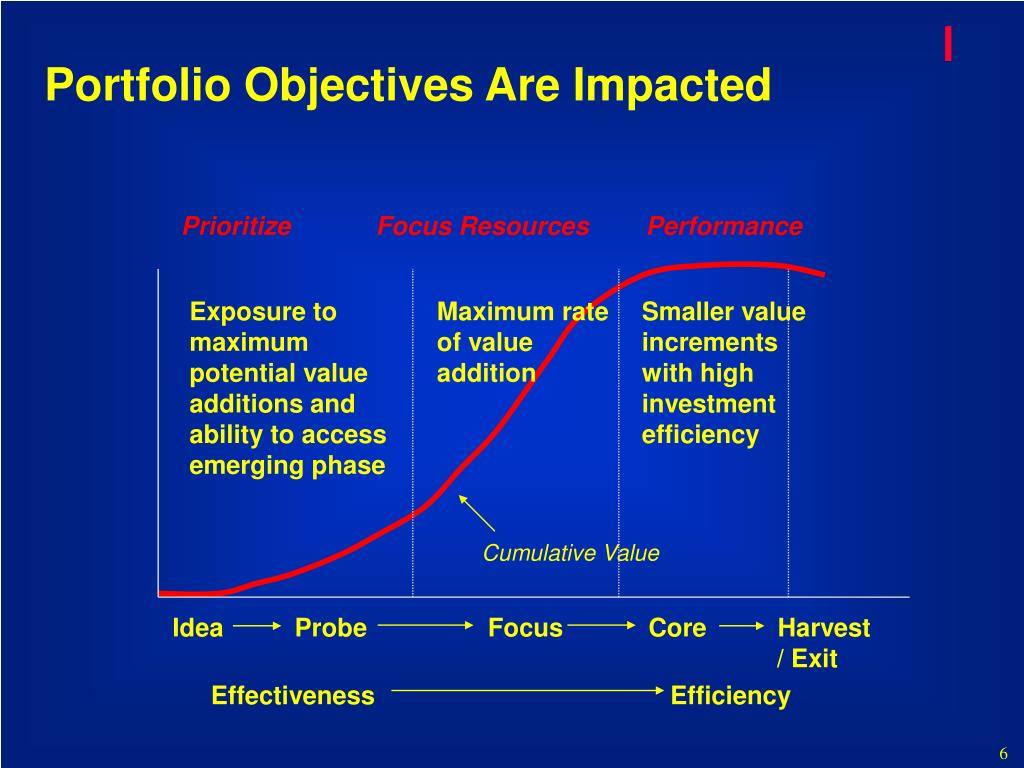 Portfolio Objectives Are Impacted