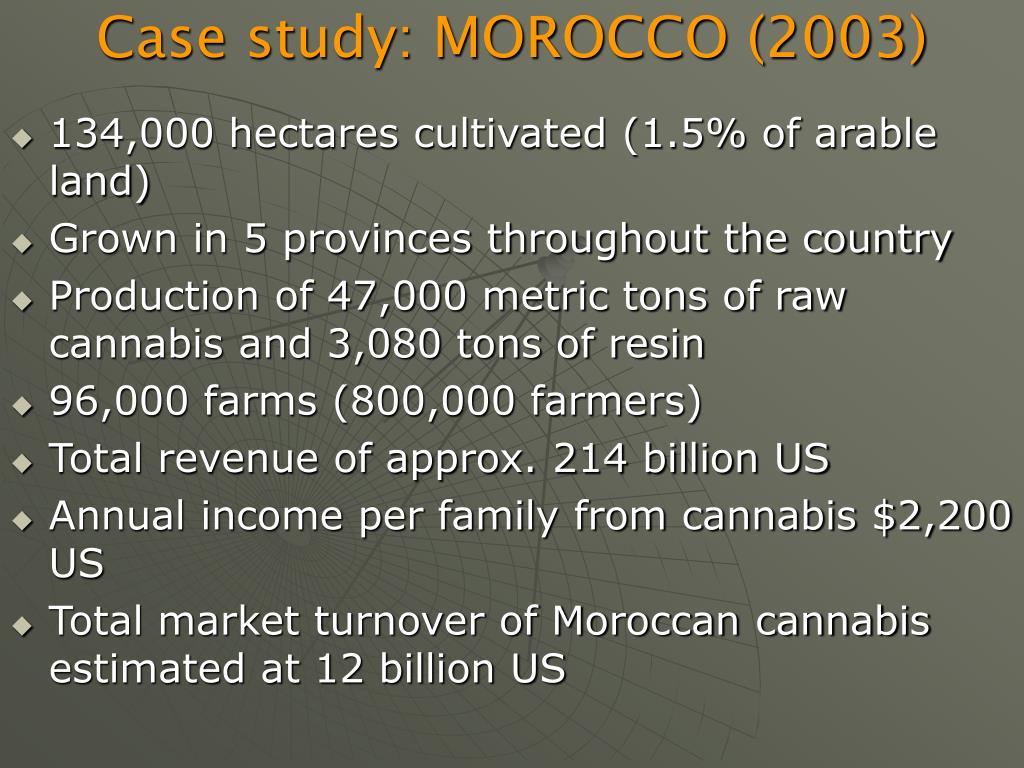 Case study: MOROCCO (2003)