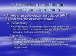 2 ethical issues and human participants in research16