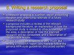 5 writing a research proposal