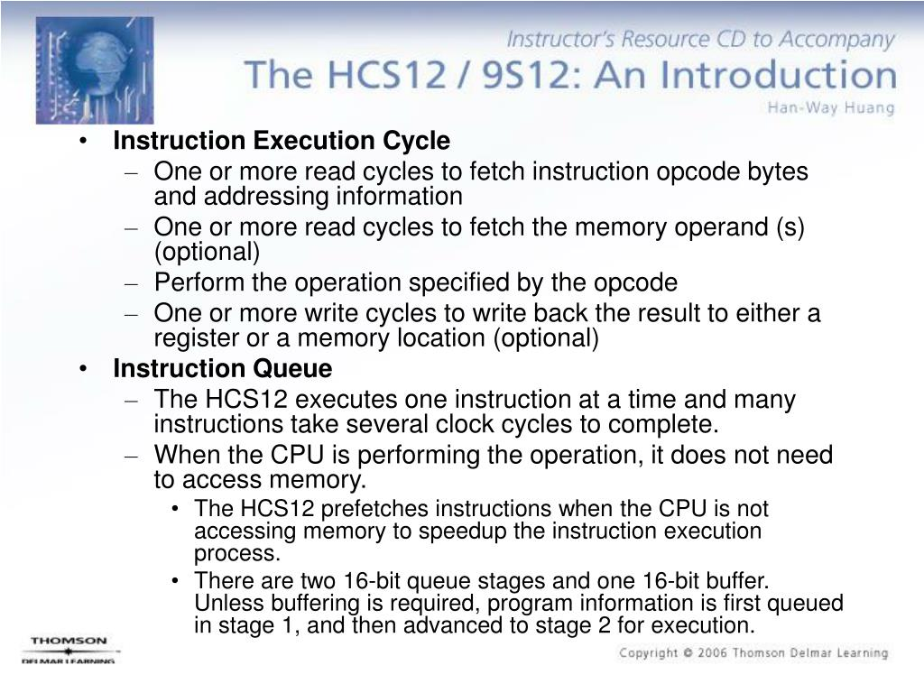 Instruction Execution Cycle